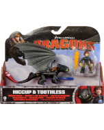 DREAMWORKS DRAGONS DRAGON RIDERS 2-PACK HICCUP & TOOTHLESS