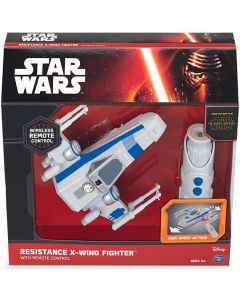 STAR WARS RESISTANCE X-WING FIGHTER WITH REMOTE CONTROL
