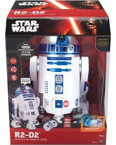 STAR WARS R2-D2 INTERACTIVE ROBOTIC DROID 16""