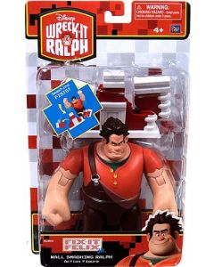 WRECK-IT RALPH DELUXE ACTION FIGURE WALL SMASHING RALPH