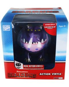 "HTTYD DRAGONS W2 ACTION VINYLS 7"" GRONCKLE (PURPLE)"
