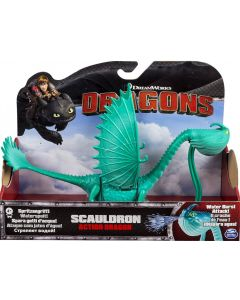 DREAMWORKS DRAGONS SCAULDRON ACTION DRAGON