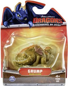 DRAGONS DEFENDERS OF BERK MINI FIGURE GRUMP RUMBLEHORN