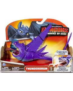 DRAGONS DEFENDERS OF BERK ACTION FIGURE THUNDERDRUM (Wild)