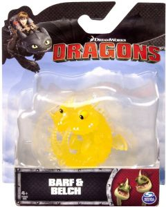 DREAMWORKS DRAGONS BARF & BELCH MINI DRAGON
