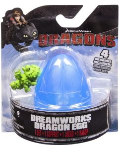 DREAMWORKS DRAGONS DRAGON EGG BLUE