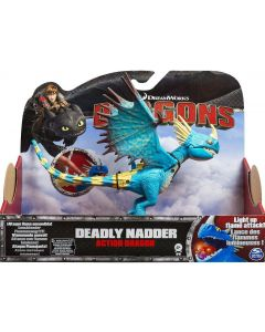 DREAMWORKS DRAGONS DEADLY NADDER ACTION DRAGON (2015)