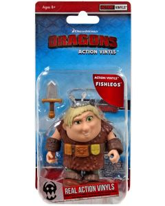 "HTTYD HUMANS W1 ACTION VINYLS 3"" FISHLEGS"