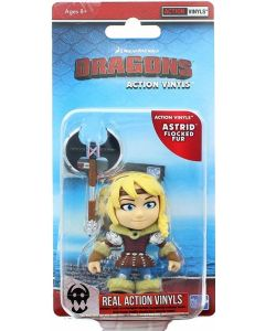 "HTTYD HUMANS W2 ACTION VINYLS 3"" ASTRID (FLOCKED FUR)"