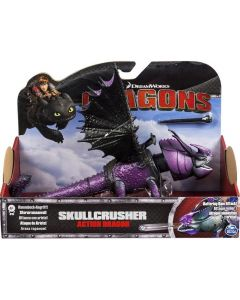 DREAMWORKS DRAGONS SKULLCRUSHER ACTION DRAGON (PURPLE)
