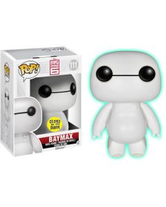 FUNKO POP! DISNEY: BIG HERO 6 VINYL FIGURES BAYMAX (Nursebot Glow) 6""