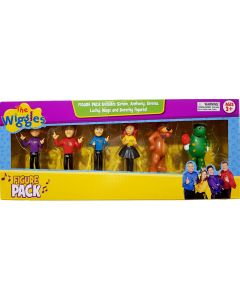THE WIGGLES FIGURE 6 PACK