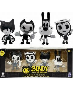 BENDY COLLECTIBLE FIGURE 4-PACK (S1)