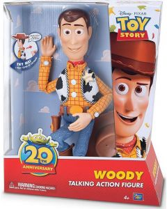 DISNEY TOY STORY 20TH ANNIVERSARY SHERIFF WOODY TALKING ACTION FIGURE