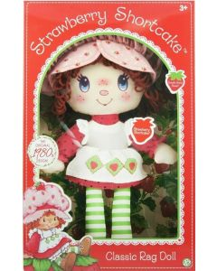 STRAWBERRY SHORTCAKE RETRO CLASSIC RAG DOLL