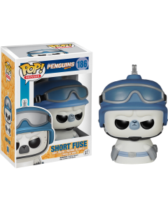FUNKO POP! MOVIES: PENGUINS OF MADAGASCAR VINYL FIGURES - Short Fuse