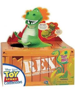 TOY STORY COLLECTION REX THE ROARR'N DINOSAUR