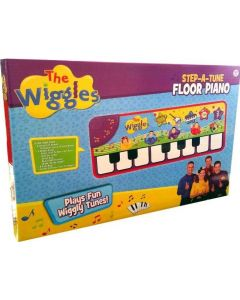 THE WIGGLES STEP-A-TUNE FLOOR PIANO