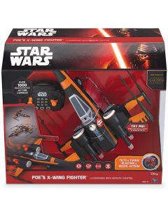 STAR WARS POE'S X-WING FIGHTER U-COMMAND WITH RC