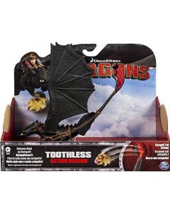DREAMWORKS DRAGONS TOOTHLESS ACTION DRAGON (CATAPULT)