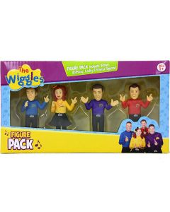 THE WIGGLES FIGURE PACK 2015 (Simon, Anthony, Lachy & Emma)