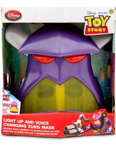 DISNEY TOY STORY LIGHT UP AND VOICE CHANGING ZURG MASK