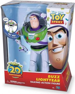 DISNEY TOY STORY 20TH ANNIVERSARY BUZZ LIGHTYEAR TALKING ACTION FIGURE