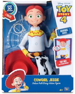 TOY STORY 4 COWGIRL JESSIE Deluxe Pull-String Action Figure