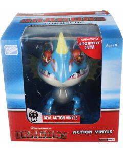 """HTTYD DRAGONS W2 ACTION VINYLS 7"""" STORMFLY (RACING STRIPES)"""