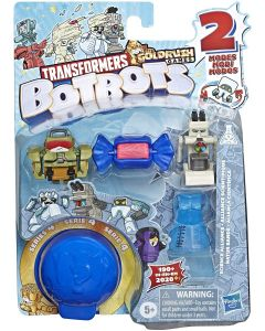 TRANSFORMERS BOTBOTS TOYS SERIES 4 SCIENCE ALLIANCE 5-PACK ASSORTED