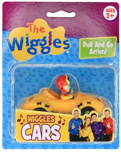"""THE WIGGLES 3"""" WIGGLES CARS YELLOW (EMMA)"""