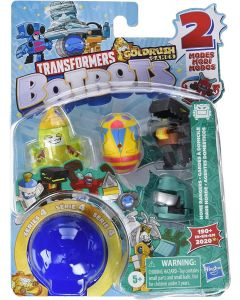TRANSFORMERS BOTBOTS TOYS SERIES 4 HOME RANGERS 5-PACK ASSORTED