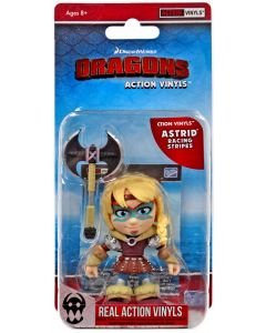 """HTTYD HUMANS W1 ACTION VINYLS 3"""" ASTRID (RACING STRIPES)"""