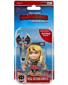 """HTTYD HUMANS W2 ACTION VINYLS 3"""" ASTRID (NIGHT)"""