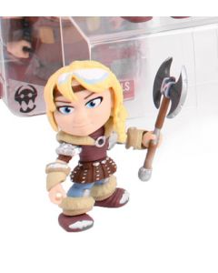 """HTTYD HUMANS W2 ACTION VINYLS 3"""" ASTRID (SNOW)"""