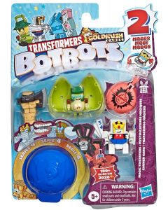TRANSFORMERS BOTBOTS TOYS SERIES 4 MAGIC TRICKSTERS 5-PACK ASSORTED