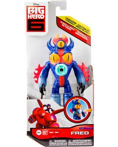 """BIG HERO 6 FEATURE FIGURES 6"""" FRED"""