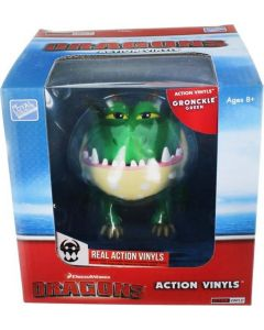 """HTTYD DRAGONS W2 ACTION VINYLS 7"""" GRONCKLE (GREEN)"""