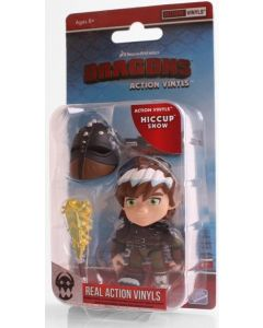 """HTTYD HUMANS W1 ACTION VINYLS 3"""" HICCUP (SNOW)"""