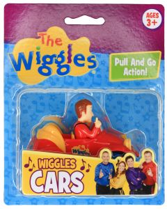 """THE WIGGLES 3"""" WIGGLES CARS RED (SIMON)"""