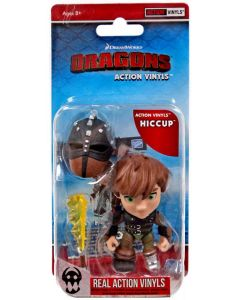 """HTTYD HUMANS W1 ACTION VINYLS 3"""" HICCUP"""