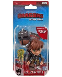 """HTTYD HUMANS W1 ACTION VINYLS 3"""" HICCUP (NIGHT)"""