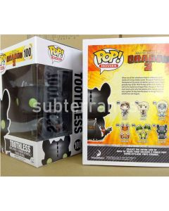 FUNKO POP! MOVIES HOW TO TRAIN YOUR DRAGON TOOTHLESS VINYL FIGURE