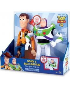 TOY STORY 4 WOODY & BUZZ LIGHTYEAR ACTION FIGURES BUDDY PACK