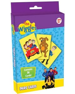 THE WIGGLES PAIRS CARDS