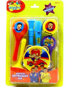 THE WIGGLES MUSICAL INSTRUMENT KIT