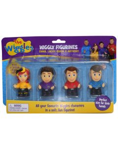 THE WIGGLES WIGGLY FIGURINES 4 PACK (Emma, Lachy, Simon & Anthony)