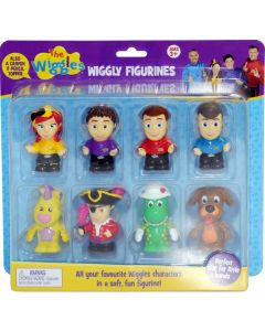 THE WIGGLES WIGGLY FIGURINES 8 PACK