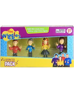 THE WIGGLES ARTICULATED FIGURE 4 PACK (2017)